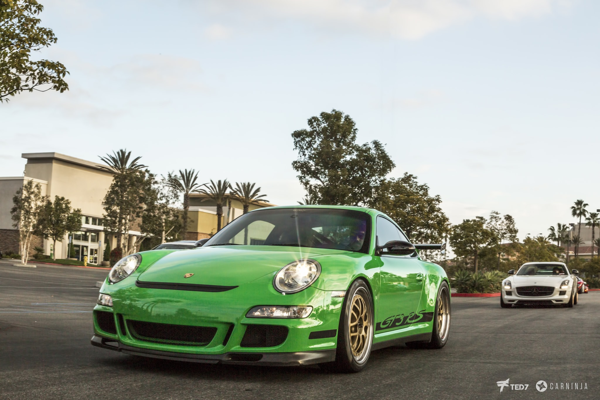 Green 2008 GT3 RS